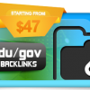 EDU/GOV Backlinks